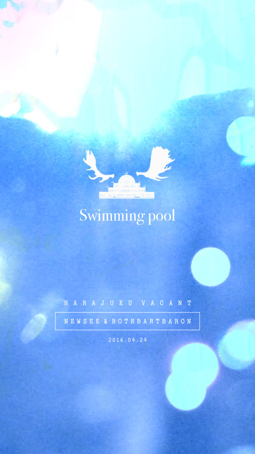 "Organize & Art Direction / ""SWIMMING POOL"""